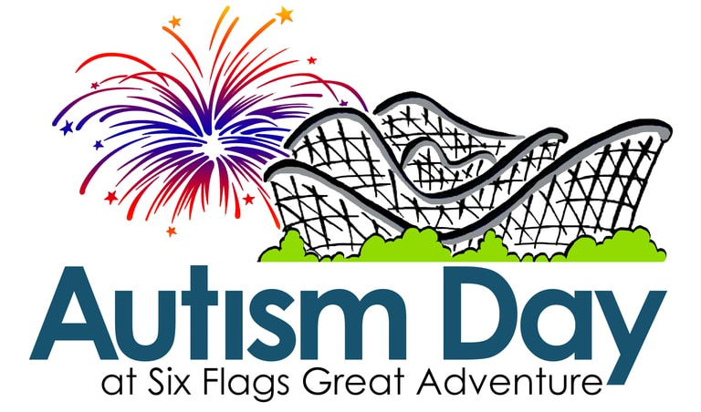 Autism Day at Six Flags Great Adventure Logo