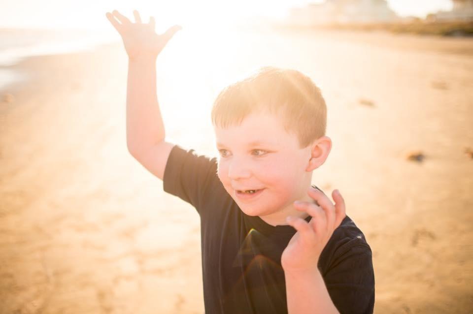 Gersh Academy Student on a Beach